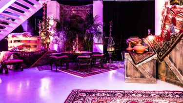 aladdin oosters interieur