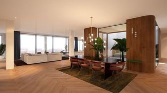 woonkamer hout