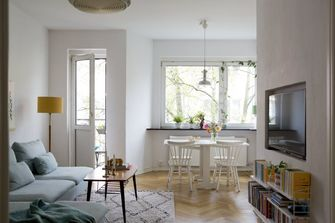 zomerse vibe in huis