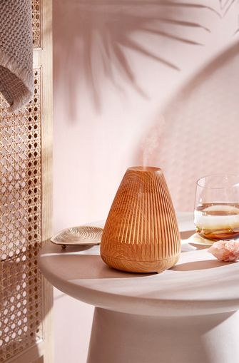 Olie diffuser hout