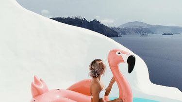 action flamingo luchtbed